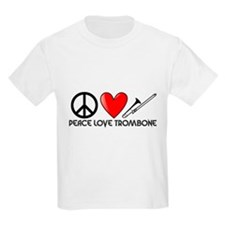 Peace, Love, Trombone T-Shirt