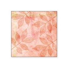 Peach Leaves Sticker