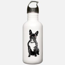 Ruby Eyed Frenchie Water Bottle