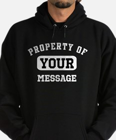 Personalized PROPERTY OF... Hoodie