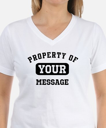 Personalized PROPERTY OF... Shirt