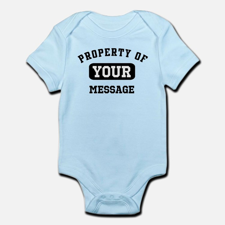 Personalized PROPERTY OF... Onesie