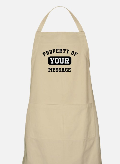 Personalized PROPERTY OF... Apron
