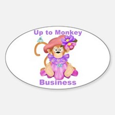 Monkey Business Decal