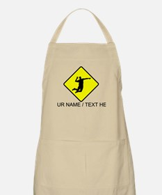 Volleyball Spike Crossing Apron