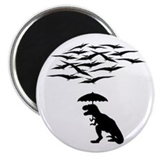 "T-Rex vs the Pterodactyls 2.25"" Magnet (10 pack)"