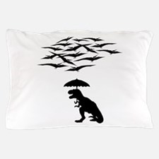 T-Rex vs the Pterodactyls Pillow Case