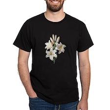 Lilium Candidum by Pierre Joseph Redoute T-Shirt