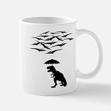 T-Rex vs the Pterodactyls Mug