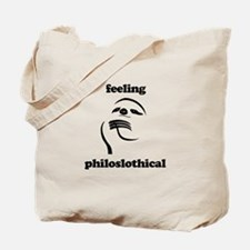 Feeling Philoslothical Tote Bag