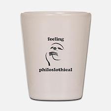 Feeling Philoslothical Shot Glass