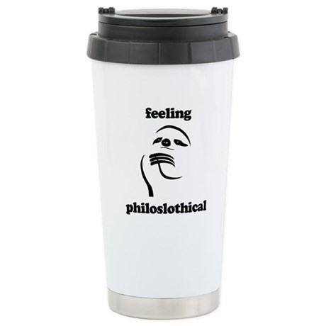 Feeling Philoslothical Travel Mug