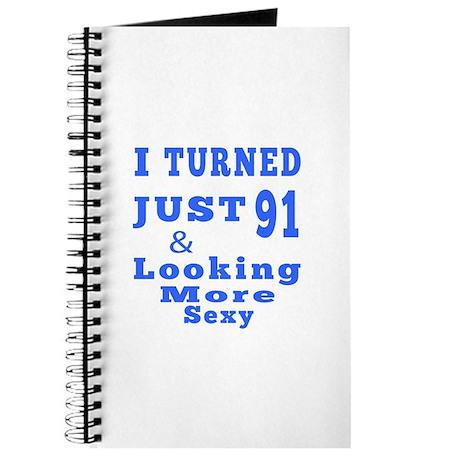 91 birthday designs Journal