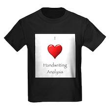 I Heart Handwriting Analysis T