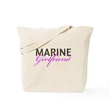 Marine Girlfriend Woodland Tote Bag