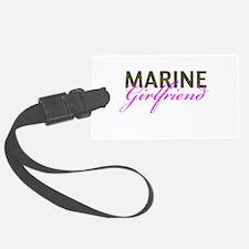 Marine Girlfriend Woodland Luggage Tag