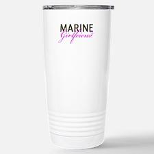Marine Girlfriend Woodland Travel Mug
