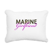 Marine Girlfriend Woodland Rectangular Canvas Pill