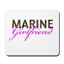Marine Girlfriend Woodland Mousepad