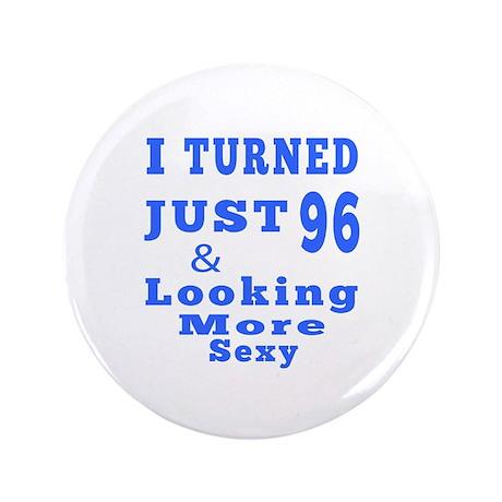 """96 birthday designs 3.5"""" Button"""
