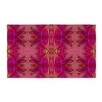 Red and Mauve 3'x5' Area Rug