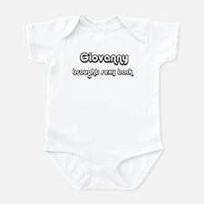 Sexy: Giovanny Infant Bodysuit