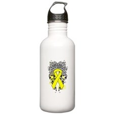 Support Testicular Cancer Cause Water Bottle