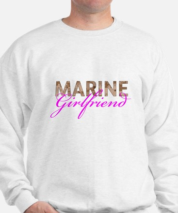 Marine Girlfriend Desert Sweatshirt