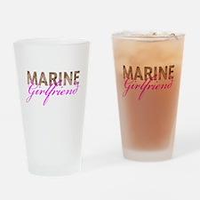 Marine Girlfriend Desert Drinking Glass
