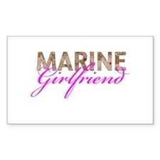 Marine Girlfriend Desert Decal
