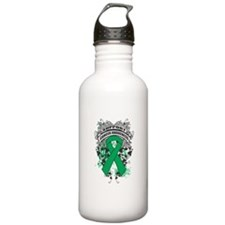 Support Liver Cancer Cause Water Bottle