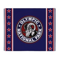 Olympic Ram Circle Throw Blanket