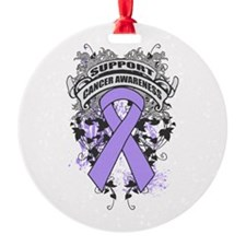 Support General Cancer Cause Ornament