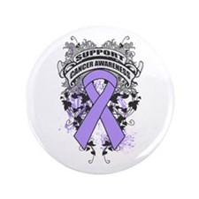 """Support General Cancer Cause 3.5"""" Button (100 pack"""