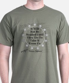 It Will Not Be Needed Until T-Shirt