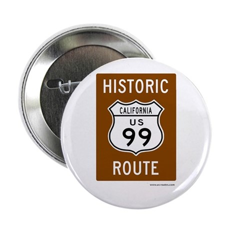 "Historic US Route 99 2.25"" Button (10 pack)"