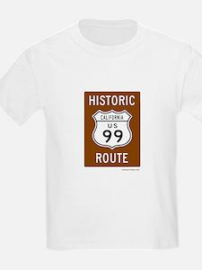 Historic US Route 99 T-Shirt