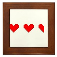 Only One Life To Give Framed Tile