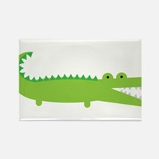 Alligator Rectangle Magnet