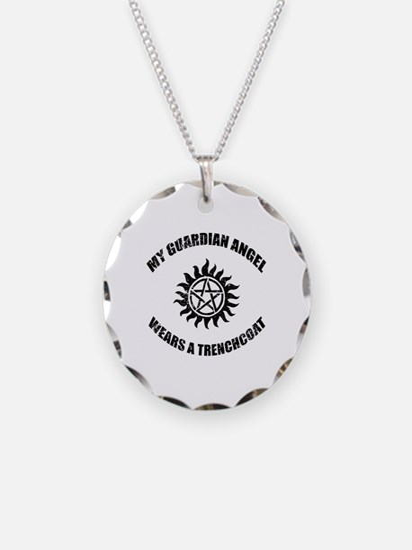 Supernatural Guardian Angel Necklace
