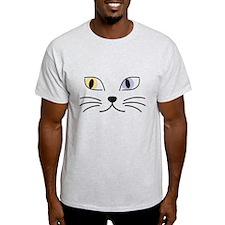 Charming Odd-eyed Cat T-Shirt