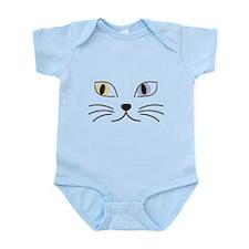 Charming Odd-eyed Cat Infant Bodysuit