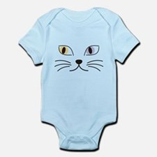 Charming Odd-eyed Cat Infant Bodysuit