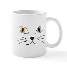 Charming Odd-eyed Cat Mug