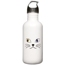 Charming Odd-eyed Cat Water Bottle