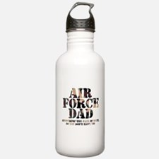 AF Dad Answering Call Water Bottle
