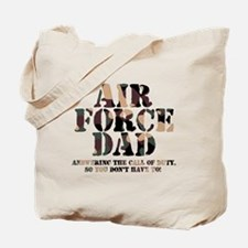 AF Dad Answering Call Tote Bag