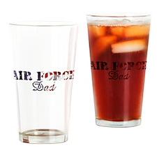 AF Dad American Flag Drinking Glass