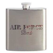 AF Dad American Flag Flask