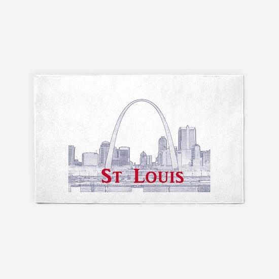 St. Louis 3'x5' Area Rug